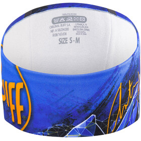 Buff Headband Windproof Anton Buff Size 20 Blue/Blue Ink
